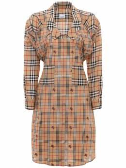 Платье-рубашка Из Хлопка Поплин Burberry 70I5CE093-QTcwMjg1