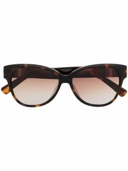 Longchamp солнцезащитные очки с оправе 'кошачий глаз' LO635S214