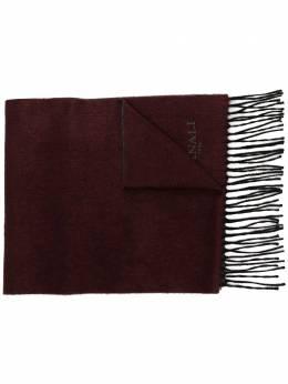 Canali шарф с бахромой 06TX001179