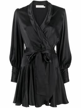 Zimmermann платье мини с запахом 8067DRAND