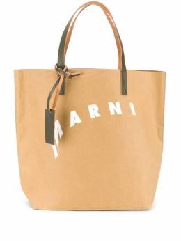 Marni сумка-тоут с логотипом SHMQ0000A8P3951