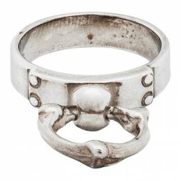 Takahiromiyashita The Soloist Silver Bone Shaped Ring sa.0041AW20