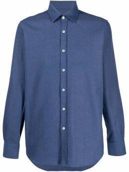 Canali рубашка на пуговицах L777GL01994