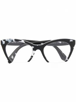 Miu Miu Eyewear очки в оправе 'кошачий глаз' 0MU03QVPC71O1