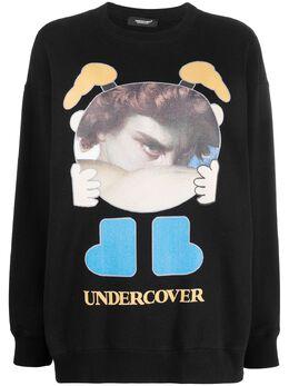 Undercover толстовка с графичным принтом UCZ18945