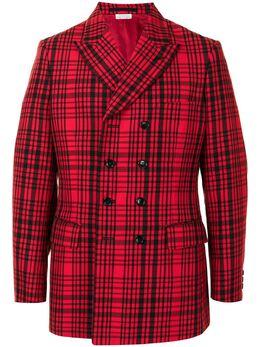 Comme Des Garcons Homme Plus однобортный пиджак в клетку PFJ035