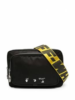 Off-White сумка через плечо OW с логотипом OMNO001R21FAB0011001