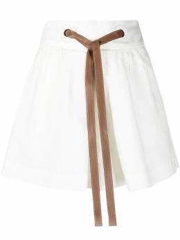 Zimmermann шорты Lovestruck с завязками 9627AAND