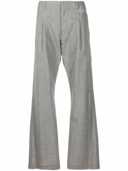 Off-White клетчатые брюки строгого кроя OMCA171R21FAB0010600