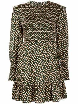 Rixo многослойное платье мини с цветочным принтом TALISA