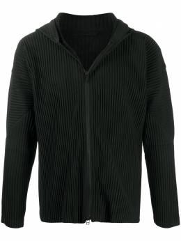 Homme Plisse Issey Miyake легкая куртка в рубчик HP08JL110