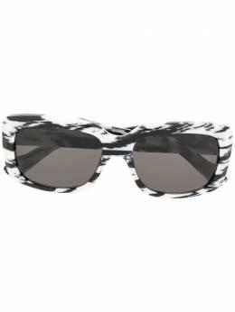 Balenciaga Eyewear солнцезащитные очки Paris в квадратной оправе BB0072S