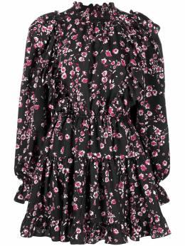 Gina платье с оборками и цветочным принтом GI200107A