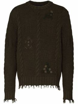 Alanui свитер Stitch-mas LMHE014R21KNI0015555