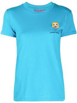 Chiara Ferragni футболка @cfmascotte с логотипом 20AICFT102