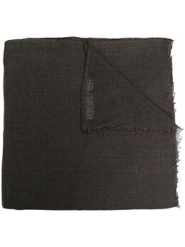 Rick Owens шарф тонкой вязки с бахромой RP20F2462