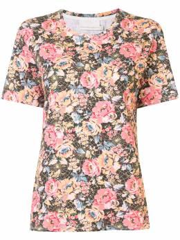 Ginger & Smart футболка с цветочным принтом W20135