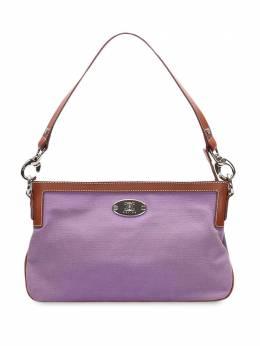 Celine Pre-Owned сумка с металлическим логотипом 0ICESH022