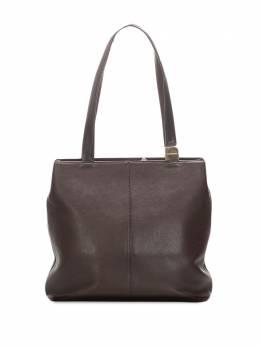 Burberry Pre-Owned сумка-тоут с подкладкой в клетку 0IBUHB018