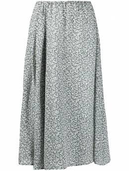 Alysi юбка миди с узором 150045