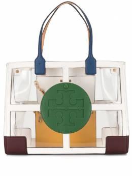 Tory Burch прозрачная сумка-тоут Ella квадратной формы 71880
