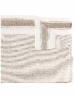 Brunello Cucinelli шарф в полоску MSCDARL38