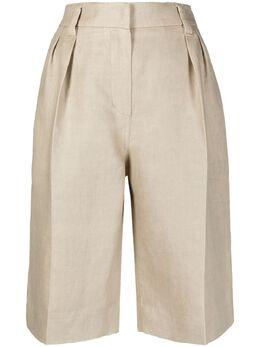 Brunello Cucinelli брюки с завышенной талией MH506P7648