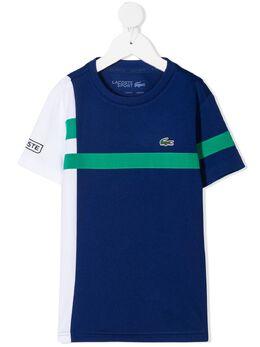 Lacoste Kids футболка с логотипом TJ121500GXP