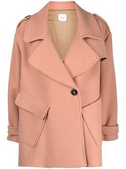 Alysi однобортное пальто 150925A0201