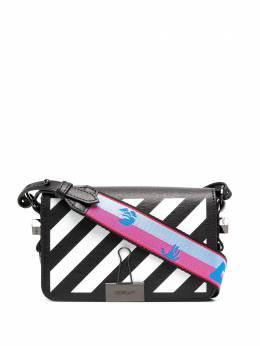 Off-White Diag mini Flap bag OWNA038R21LEA0011001
