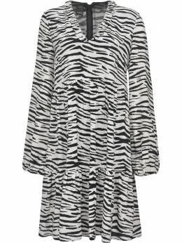 Pinko платье с зебровым принтом 1N133V8495ZZ1