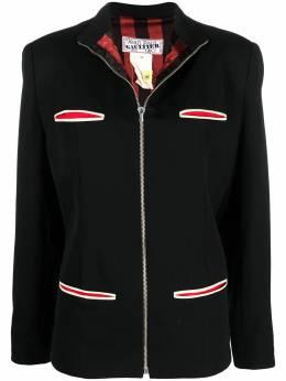 Jean Paul Gaultier Pre-Owned куртка на молнии с воротником-стойкой CVB20594