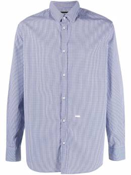 Dsquared2 полосатая рубашка на пуговицах S74DM0509S53618