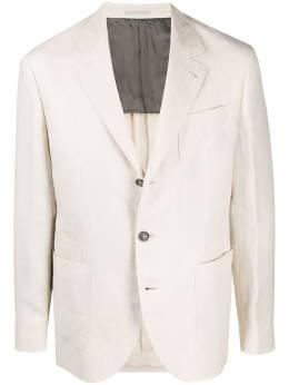 Brunello Cucinelli однобортный пиджак MD4177BND