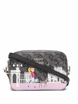 Liu Jo сумка через плечо с принтом AF0136E0017