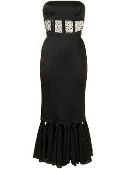Alexis фактурное платье Verbena без бретелей A32004306552