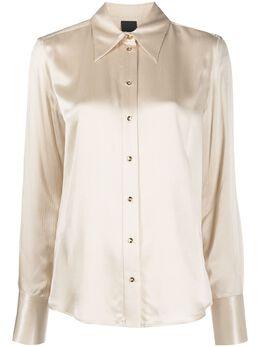 Pinko атласная рубашка на пуговицах 1B14Q18255C16