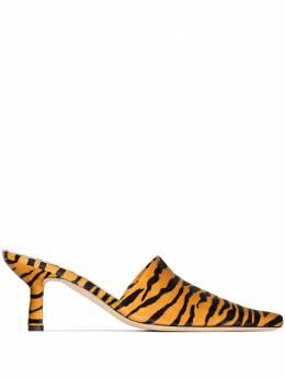 By Far мюли Cynthia 65 с тигровым принтом 21CRCYNMTGPY