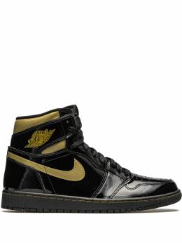 Jordan кроссовки Air Jordan 1 High 'Black Metallic Gold' 555088032