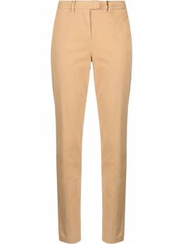 Tommy Hilfiger строгие брюки с завышенной талией WW0WW20489