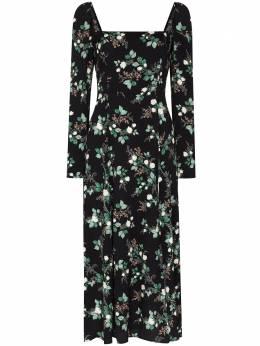 Reformation платье миди с цветочным принтом 1305735BPM