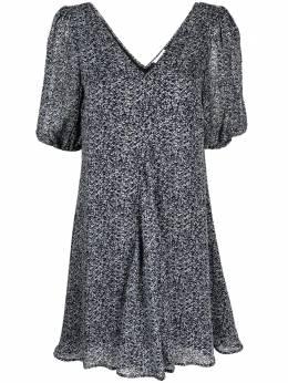 Ganni платье мини с цветочным принтом F5774