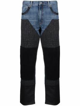 Junya Watanabe Man джинсы с принтом WFP205