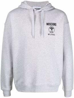 Moschino худи с логотипом Milano J17067027