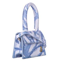Jacquemus Blue Calf Leather Le Chiquito Bag 358726