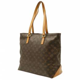 Louis Vuitton Brown Monogram Canvas Cabas Mezzo Bag 357773