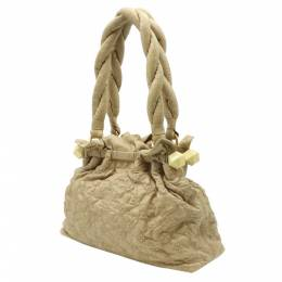 Louis Vuitton Beige Olympe Leather Stratus PM Bag 357747