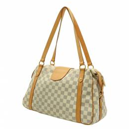 Louis Vuitton White Damier Azur Stresa PM Tote Bag 357759