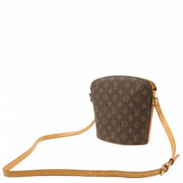 Louis Vuitton Brown Monogram Canvas Drouot Crossbody Bag 357758