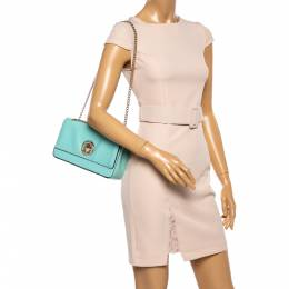 Kate Spade Mint Green Leather Grand Street Angelina Shoulder Bag 360967